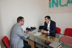 Chiril Gaburici held meeting with representatives of Incaso company
